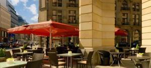 The Westin Grand Berlin Hotel Terrasse / Outdoor terrace